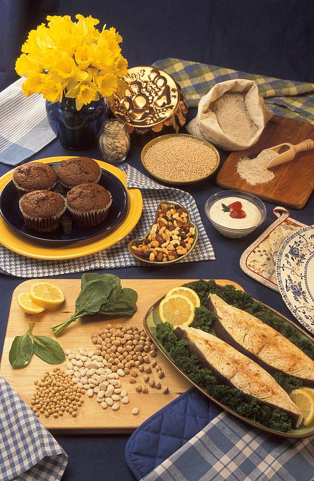 Alimentos que contienen magnesio. Foto: Pegg Greb (licencia CC)