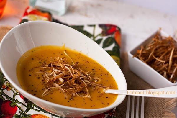 Crema de calabaza. Foto: Cuinant Carlet, http://cuinant.blogspot.com.es