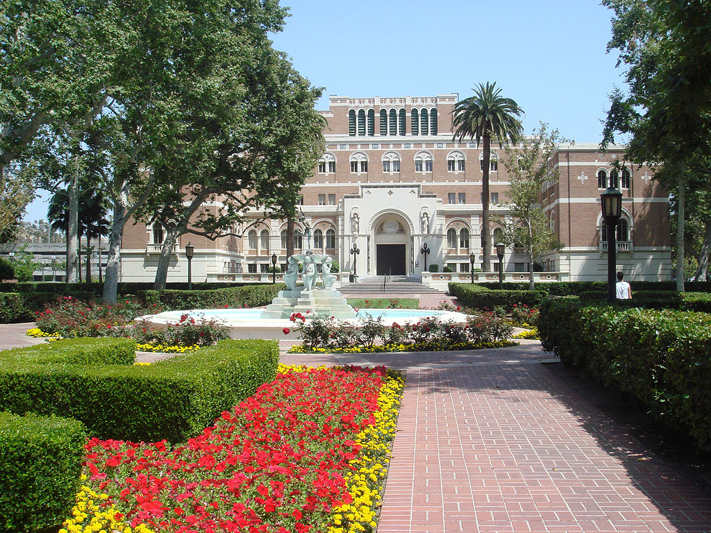 Biblioteca de la Universidad del Sur de California (USC). Foto: Bobak Ha'Eri (licencia CC) .