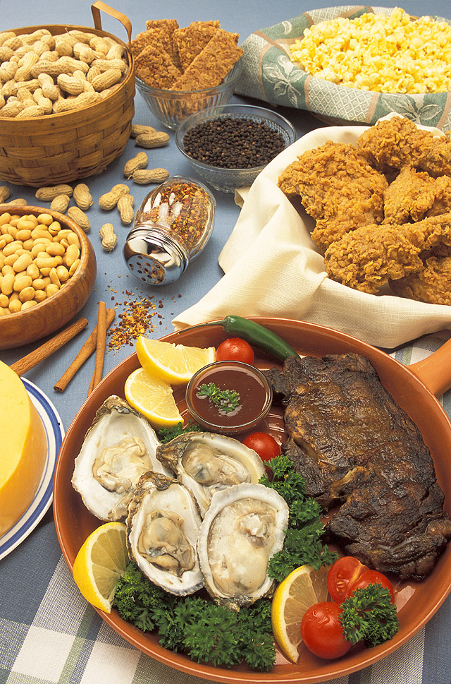 Alimentos que contienen Zinc. Foto: US Department of Africulture