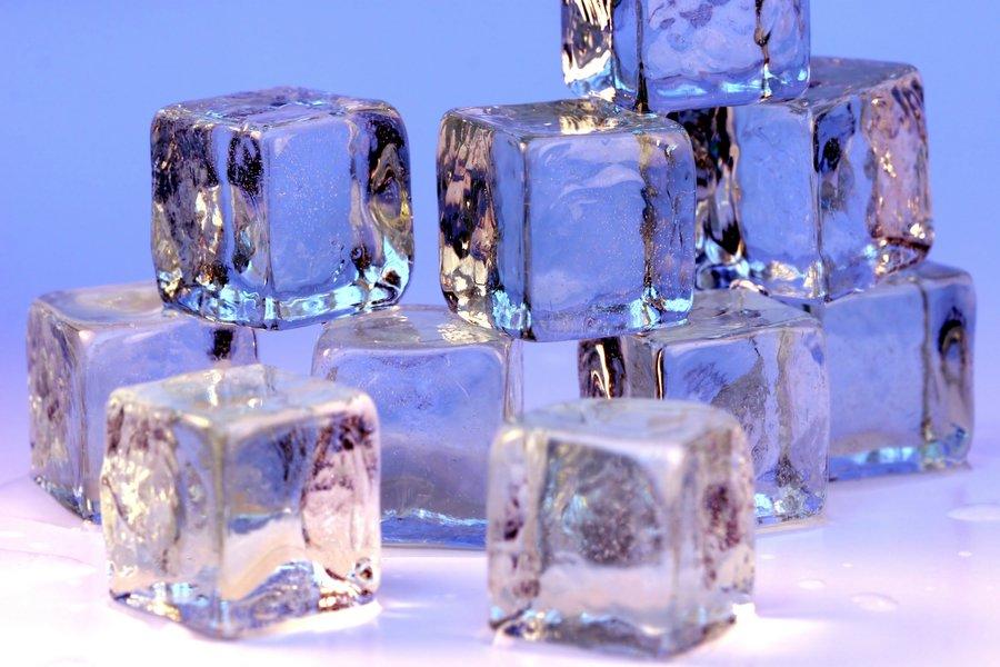 Cubitos de hielo. Foro: Darren Hester (licencia CC)