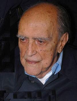El arquitecto brasileño Oscar Niemeyer fallecido en 2012, días ante de cumplir 105 años. Foto: Valter Campanato (licencia CC)