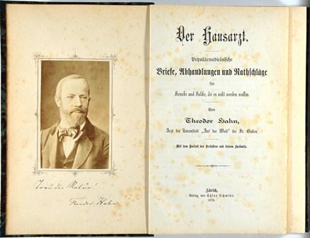 Theodor Hahn. Der Hausarzt,  Zürich 1878
