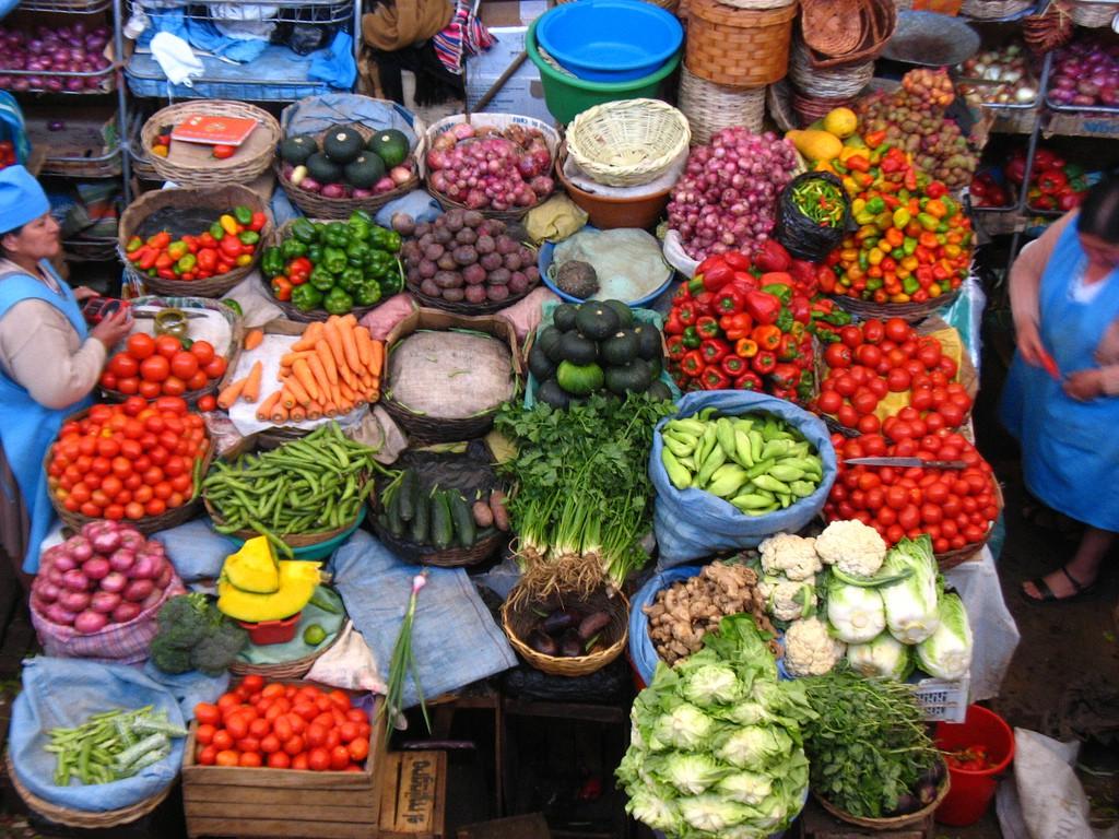 Mercado de Sucre. Foto: Cristian Ordenes (licencia CC)
