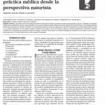 Aportaciones a la teoría y práctica médica desde la perspectiva naturista*