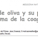El aceite de oliva y su papel en el sistema de la coagulación