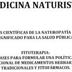 Medicina naturista y su significado para la salud pública