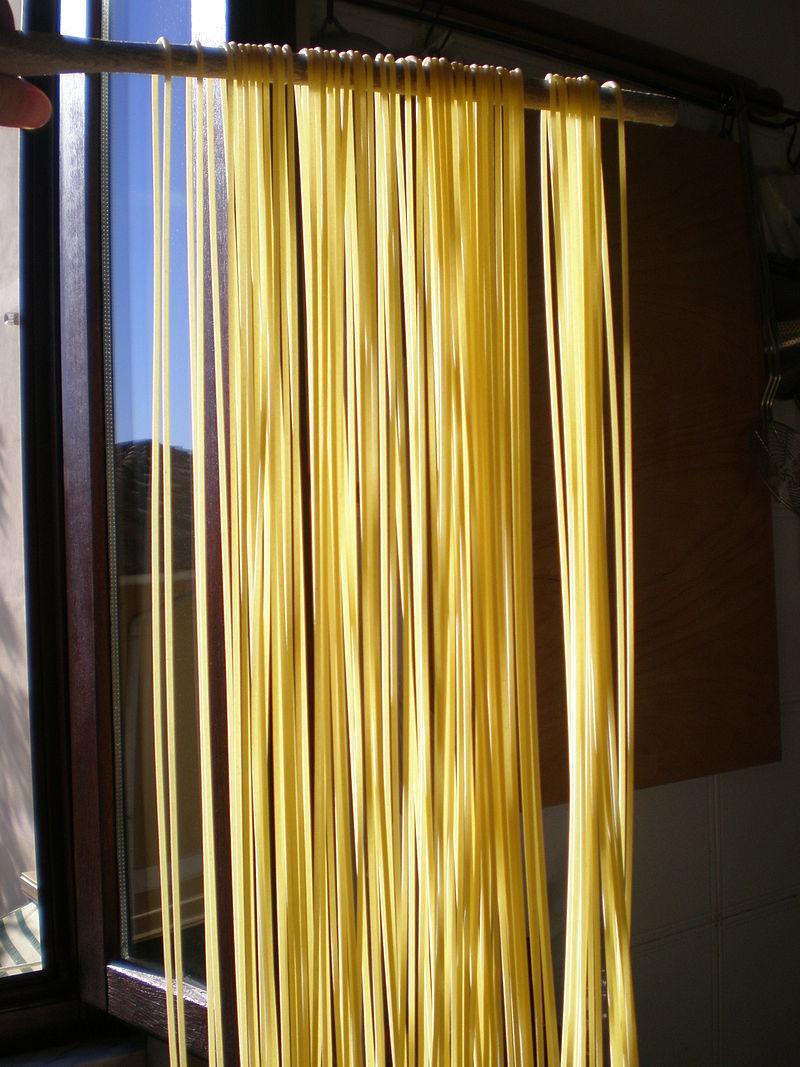 Spaghettoni. Foto: Nnaluci (licencia CC)